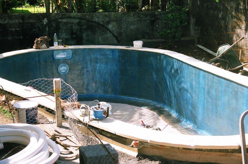 Septembre 2009 construction de notre piscine for Construction piscine 974